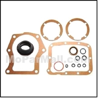 14-piece gasket and seal kit for the A-833 4-speed transmission used on 1960-76 Plymouth Barracuda - Duster - Scamp - Valiant and Dodge Dart - Demon - Sport