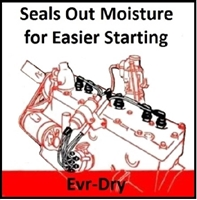 evr-dry spark plug wires for 1941-1948 plymouth