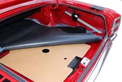 TM Vinyl Fits 1967-1969 Plymouth Barracuda Trunk Mat Fastback