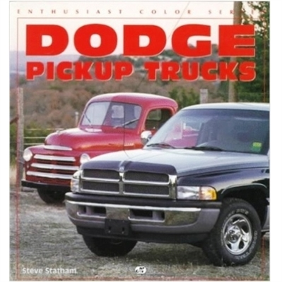 110-page comprehensive black and white photographic history of the pickups that earned Dodge its reputation as a leader in engineering and style