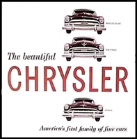 Original Sales Brochure for 1954 Chrysler