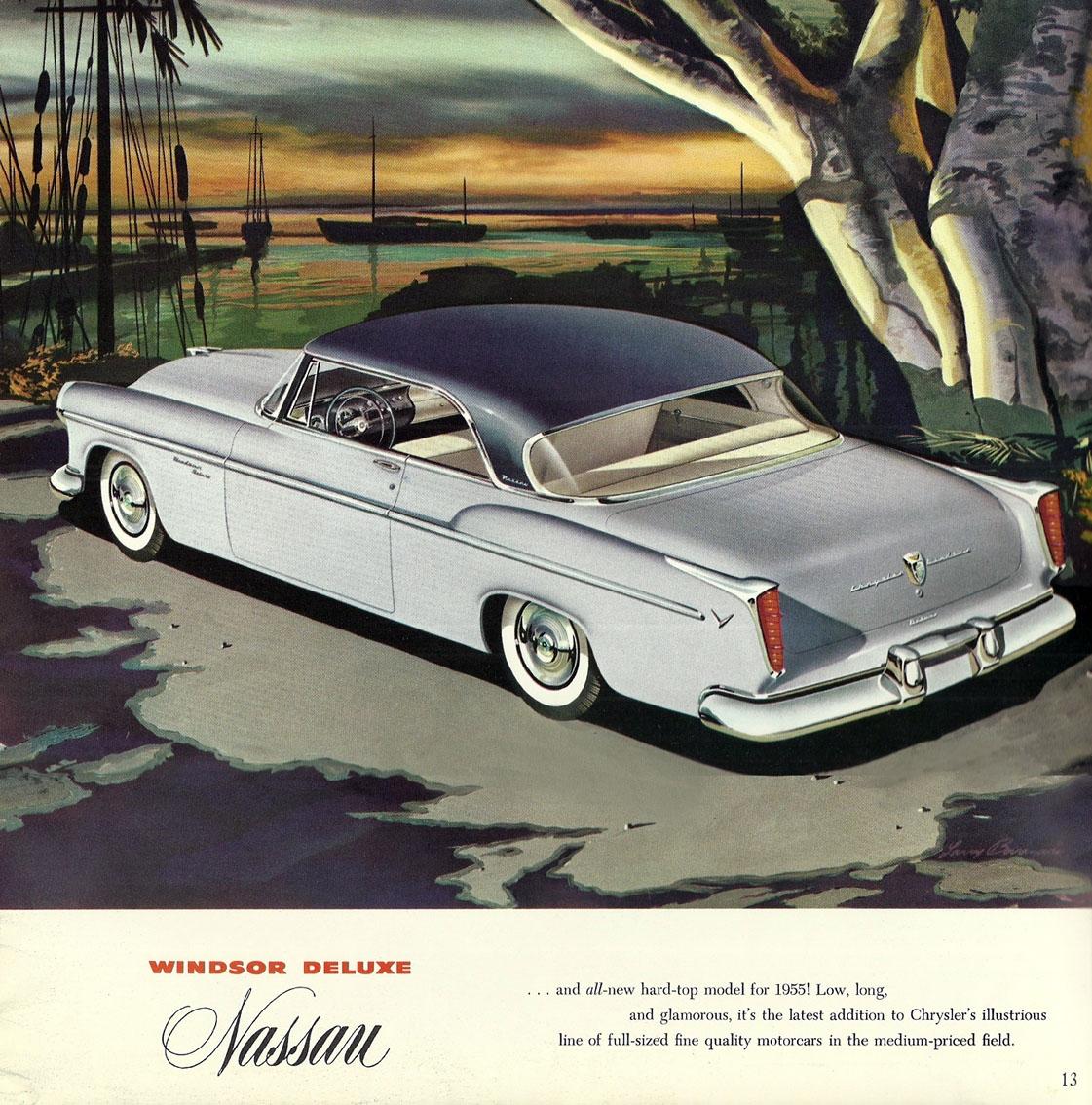 Large Prestige Sales Brochure For 1955 Chrysler Windsor Wiring Our