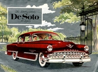 Original Sales Brochure for 1953 DeSoto