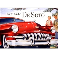 Original Prestige Sales Brochure for 1949 DeSoto