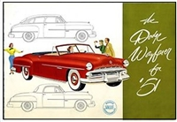 Original Sales Brochure for 1951 Dodge Wayfarer
