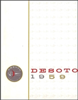 Large Original Prestige Sales Brochure for 1959 DeSoto