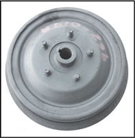"Reconditioned RH or LH front brake drum/hub assembly for 1957-61 Dodge passenger cars; DeSoto and Chrysler Windsor with 11""x 2 1/2"" rear brakes"