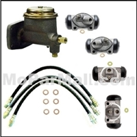 Master Cylinder, wheel cylinders and flex hoses for 1963-65 Dodge 880; 1965-66 Dodge Monaco - Polara; 1965-66 Plymouth Fury; 1963-66 Chrysler and 1963-66 Imperial