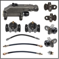 Brake Hydraulics Set for 1946-1948 Plymouth - Dodge - DeSoto - Chrysler