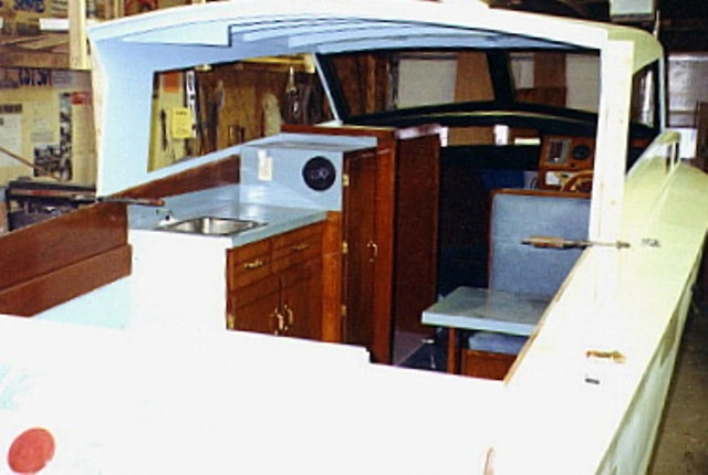 Construction Plans for Glen-L Lazy Daze 23' Cruiser