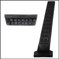 PN 1731228 - 2465491 Accelerator and brake pedals for 1964-66 Plymouth and Dodge A-Body 273 CID with manual transmission