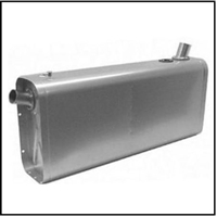 14-gallon saddle fuel tank is perfect for vintage and classic runabouts and cruisers