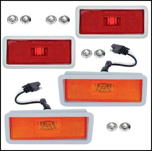 in vetro trasparente Indicatore di direzione laterale colore: Nero Carparts-Online 11725