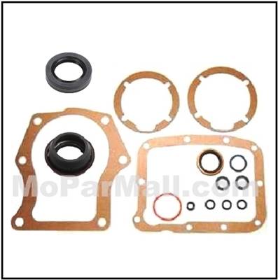 14-piece gasket and seal kit for the A-833 4-speed transmission used on 1964-1974 Plymouth Belvedere - Fury - GTX - RoadRunner - Satellite and 1964-74 Dodge Charger - Coronet - Polara - SuperBee - 330 - 440