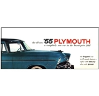Original Sales Brochure for 1955 Plymouth