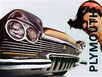Original Sales Brochure for 1957 Plymouth