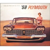 Original Sales Brochure for 1959 Plymouth
