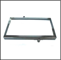 Powder-coated in satin black for durability and authenticity this show-quality steel battery hold-down frame fits all 1955-58 MoPar passenger cars
