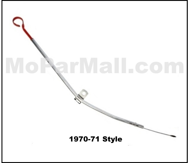 Oil Dipstick & Tube for 1966-1971 MoPar B-Body Big Block