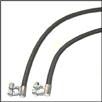 Cotton Jacket Battery Cable Set for 1935-1940 Plymouth -  Dodge - DeSoto - Chrysler