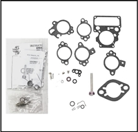 Carburetor overhaul kits for all 1955-59 Chrysler Windsor with Carter BBD 2-BBL