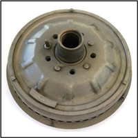 Reconditioned pn 1319671 - 1319672 front brake drum/hub assembly for 1950-51 DeSoto S14/S15