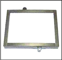 Original equipment style battery hold-down frame for 1941-48 Chrysler Corp. passenger cars