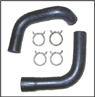 molded upper and lower radiator hoses for all 1960-61 DeSoto; all 1962-64 Chrysler and all 1960-64 Dodge 880