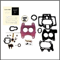 Carter Ball & Ball BBD 2-barrel carburetor rebuild kit for 1955-56 DeSoto FireDome