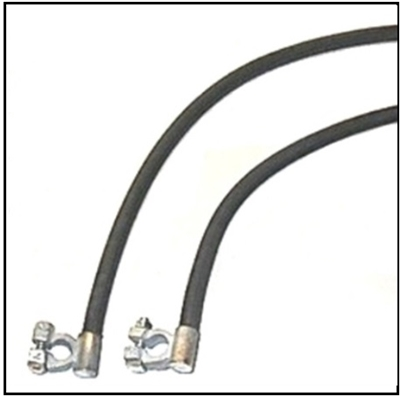 Battery Cable Set for 1946-1948 DeSoto & Chrysler 6-cyl