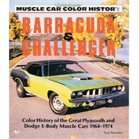 The essential guide for Chrysler's 1967-69 A-Body Barracudas and the 1970-74 E-Body Challengers, Barracudas, and 'Cudas
