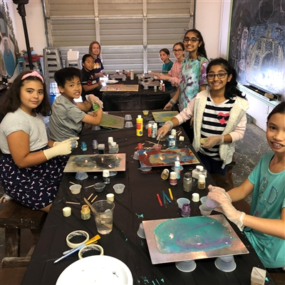 Fluid Art Workshop