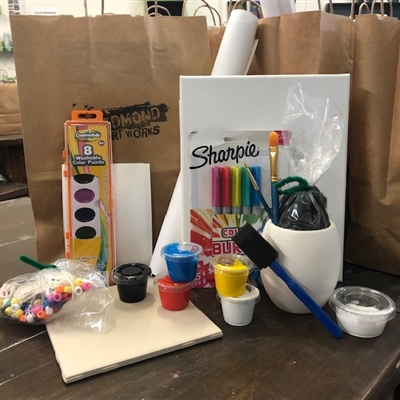 Ages 9+ Art To Go Bundle 1.0  $75