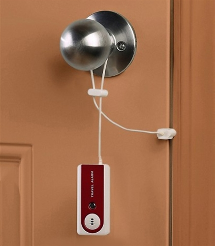 Alternative Views & COMPACT TRAVEL DOOR ALARM | For Motel Room | Hotel Safety | College ...