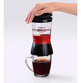 Presto Myjo K Cup Coffee Maker Combo Fresh Brew Compact Travel