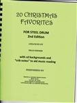 20 Christmas Favorites for steel drum (download only)