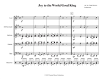Joy to the World/Good King  (download only)