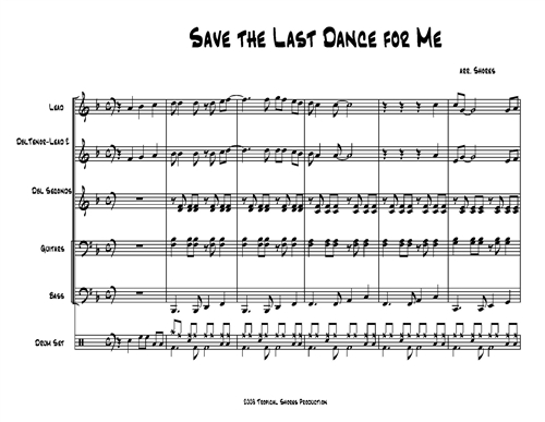 Save the Last Dance for Me (download only)