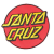 Santa Cruz Classic Dot Adhesive Back - Red - 3.25in x 3.25in - Patch