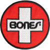 Bones Bearings Swiss Circle 3in - Black/Red/White - Patch