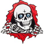 Powell Peralta Ripper 3in - Red/White/Black - Patch
