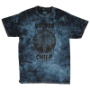 Zero Voodoo Child Tie Dye S/S - Black - Men's T-Shirt