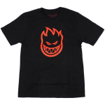Spitfire BigHead S/S - Black/Red - Youth T-Shirt