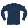 Spitfire Old E L/S - Harbor Blue - Men's T-Shirt