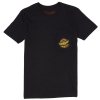 Spitfire Flying Classic Pocket S/S - Black - Men's T-Shirt