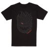 Spitfire Tripped Out S/S - Black - Men's T-Shirt