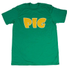 Pig Tee - Green/Yellow - Men's T-Shirt