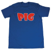 Pig Tee - Royal/Red - Men's T-Shirt