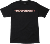 Independent Bar/Cross Regular S/S - Black - Mens T-Shirt
