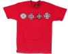 Independent 4 Of A Kind S/S - Cardinal Red - Men's T-Shirt